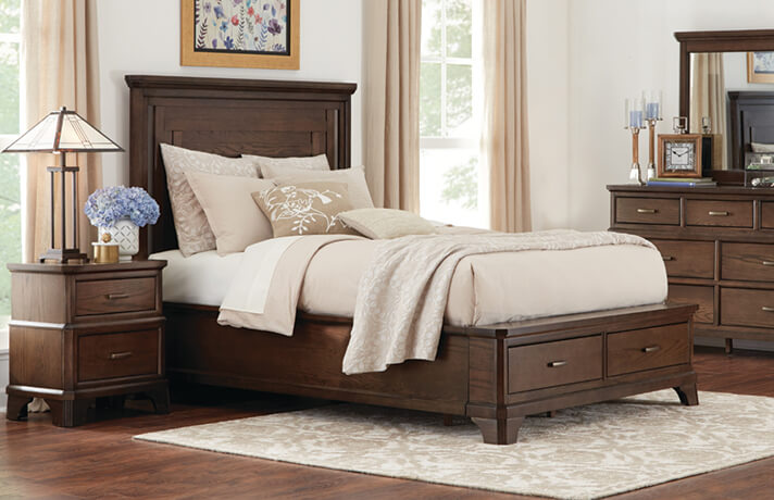 Ordinaire STelluride Queen Storage Bed
