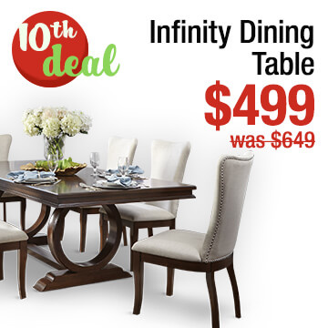 Infinity 42 inch x 96 inch Dining Table
