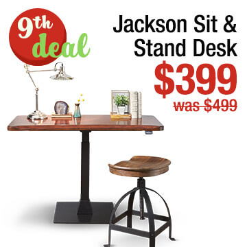 Jackson Sit and Stand Desk