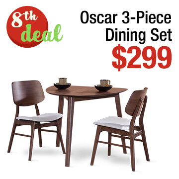 Oscar 3-Piece Dining Set