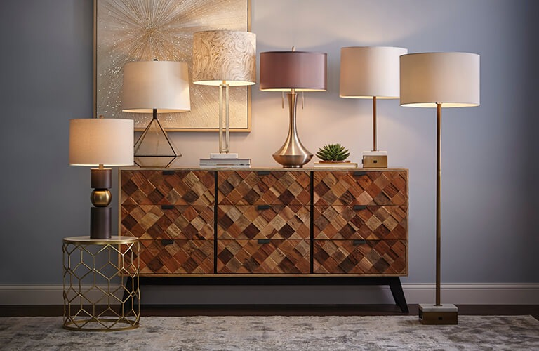 Patterned Sideboard in Mango