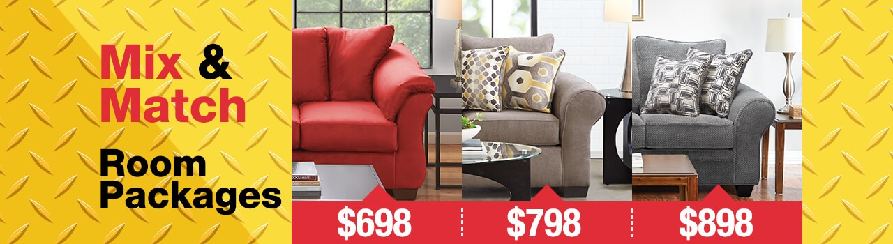 Outlet Living Room Packages