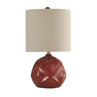 Orson Red Table Lamp