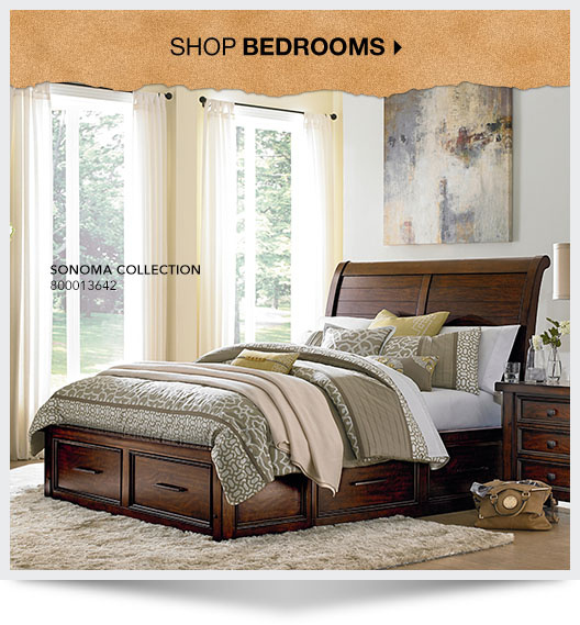 Art Van Bedroom Furniture: Rustic Home Furniture