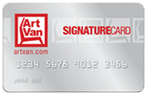 Art Van Signature Card
