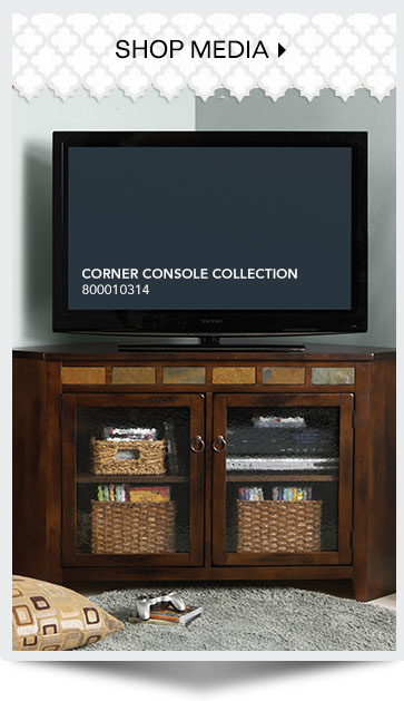 Shop Media. Corner Console Collection. SKU: 800010314
