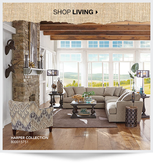 Shop Living. Harper Collection. - Art Van Furniture Affordable Home Furniture Stores And Mattress