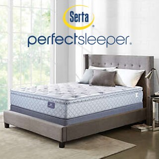 Save $250 on Serta Sheppard Pillow Top Queen Mattress