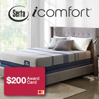 Save up to $500 on iComfort + $200 Award Card