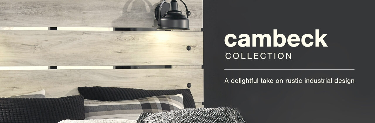 A Plus Content -  https://s7d3.scene7.com/is/image/AshleyFurniture/CollectionA%2BBanner%5FCambeck%5FBedroom?scl=1