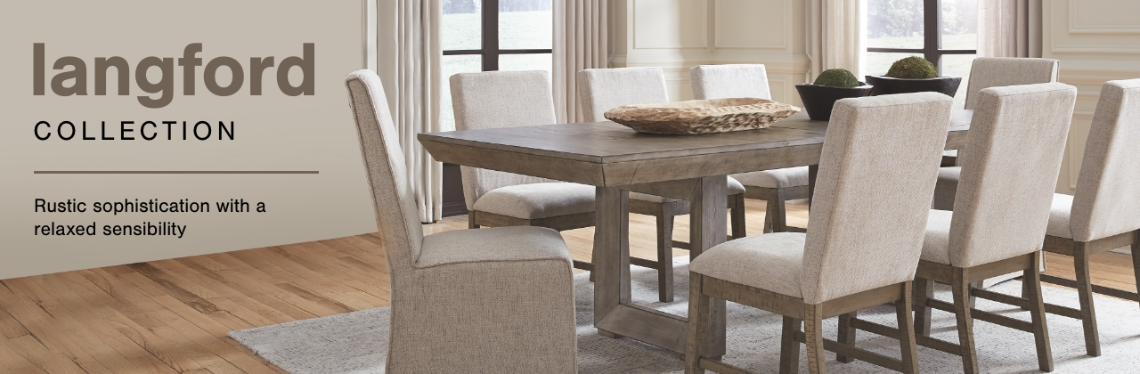 A Plus Content -  https://s7d3.scene7.com/is/image/AshleyFurniture/CollectionABanner%5FLangford%5FDining?scl=1