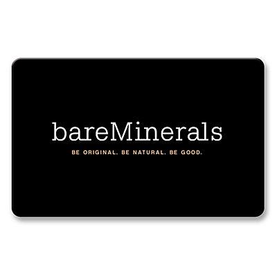 Bare Escentuals Gift Cards - Go Bare