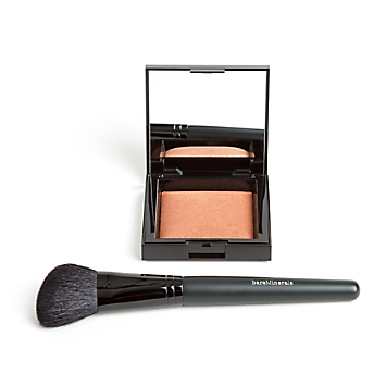 INVISIBLE BRONZE Powder Bronzer and Blooming Brush Duo