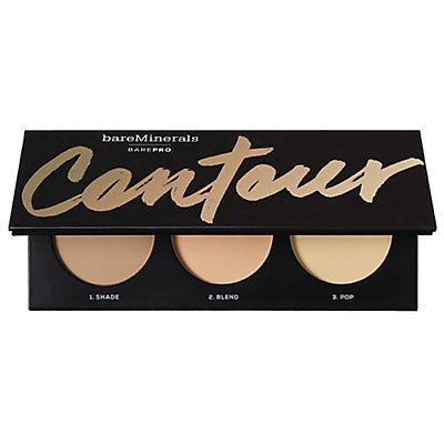 BAREPRO Contour Face-Shaping Powder Trio - Tan to Dark