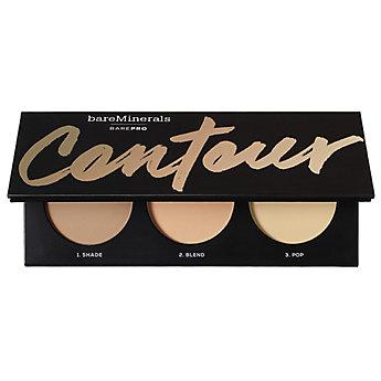 BAREPRO Contour Face-Shaping Powder Trio - Tan to Dark