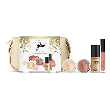 Best In Glow Radiant 4-Piece Collection at bareMinerals Boutique in 2097 Charl Charleston, WV | Tuggl