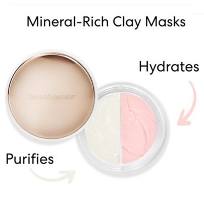 thumbnail imageClaymates Mask Duo - Be Pure & Be Dewy