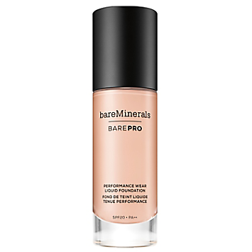 BAREPRO Performance Wear Liquid Foundation SPF 20 - Porcelain 0.5