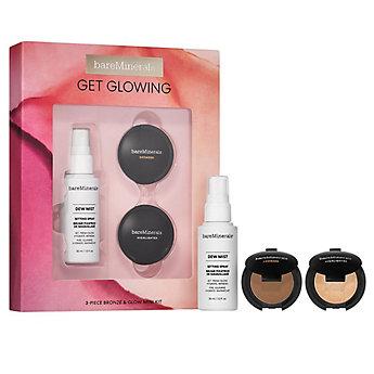GET GLOWING: 3-Piece Bronze & Glow Mini Makeup Kit