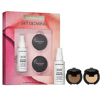 GET GLOWING: 3-Piece Bronze & Glow Mini Makeup Kit