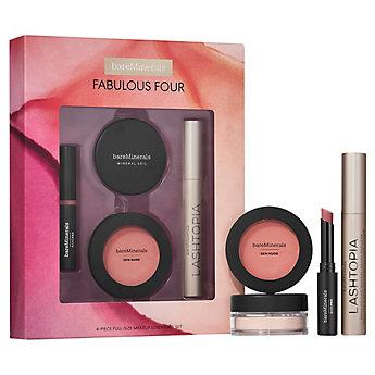 FABULOUS FOUR  4-Piece Full-Size Makeup Essentials Set