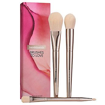 BRUSHES TO LOVE: 3-Piece Brush Set