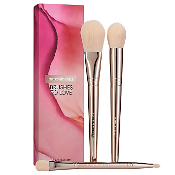 BRUSHES TO LOVE: 3-Piece Brush Set