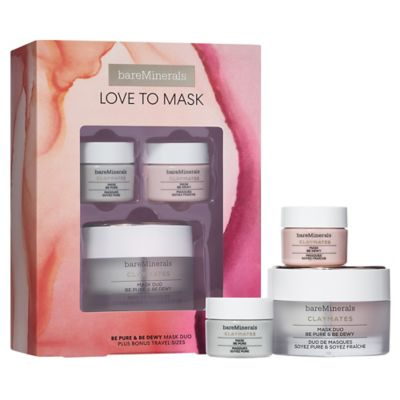 thumbnail imageLOVE TO MASK: Be Pure & Be Dewy CLAYMATES Mask Set