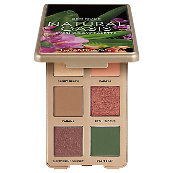 The Beauty of Nature GEN NUDE Eyeshadow Palette – Natural Oasis