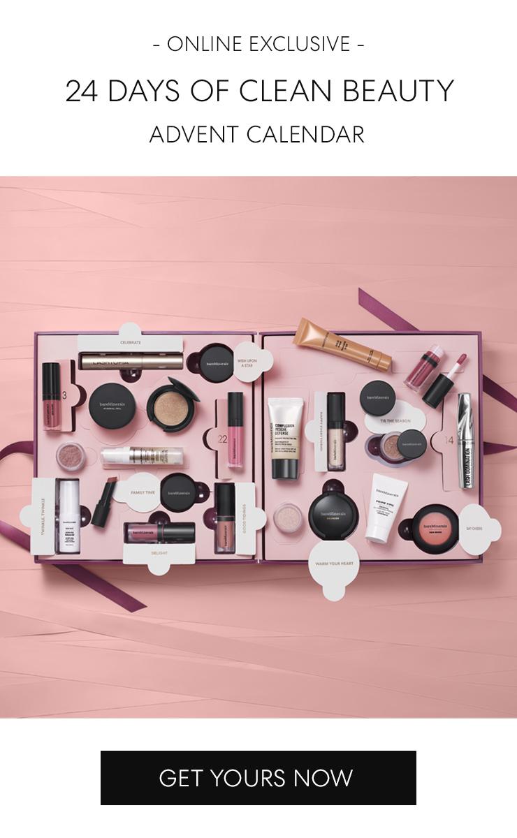 New 24 Days of Clean Beauty Advent Calendar