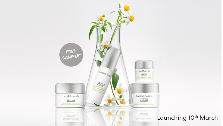 get a free sample when you purchase any skincare Code:AGELESS