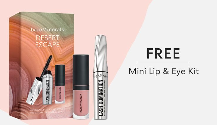 Free mini lip & eye kit