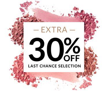 30% off last chance