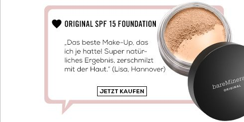 Original SPF 15 Foundation