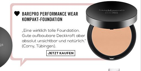 Barepro Performance Wear Kompakt-Foundation