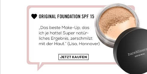 Original Foundation SPF 15