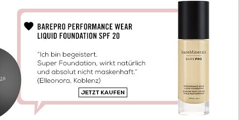 Barepro Performance Wear Liquid Foundation SPF 20