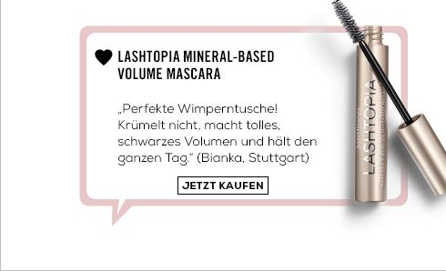 Lashtopia Mineral-based volume mascara