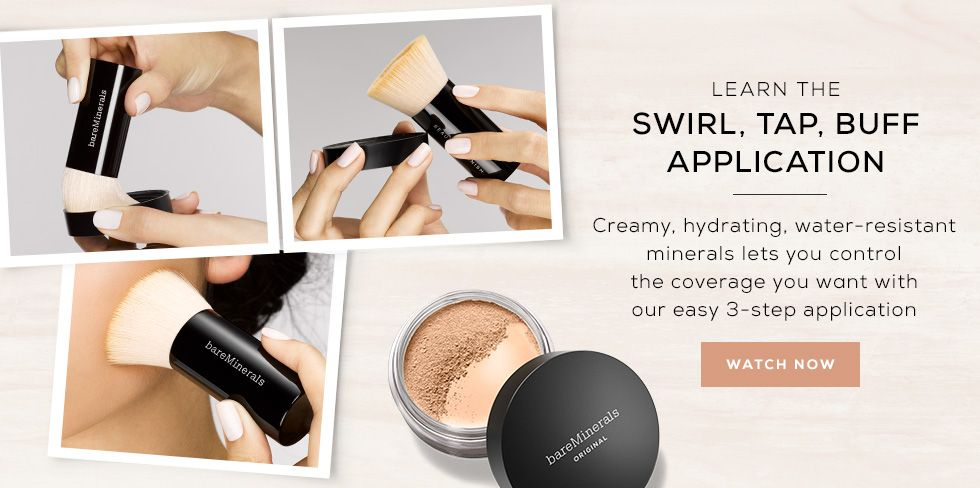 Shop Bareminerals Leaders In Mineral Foundation And Makeup