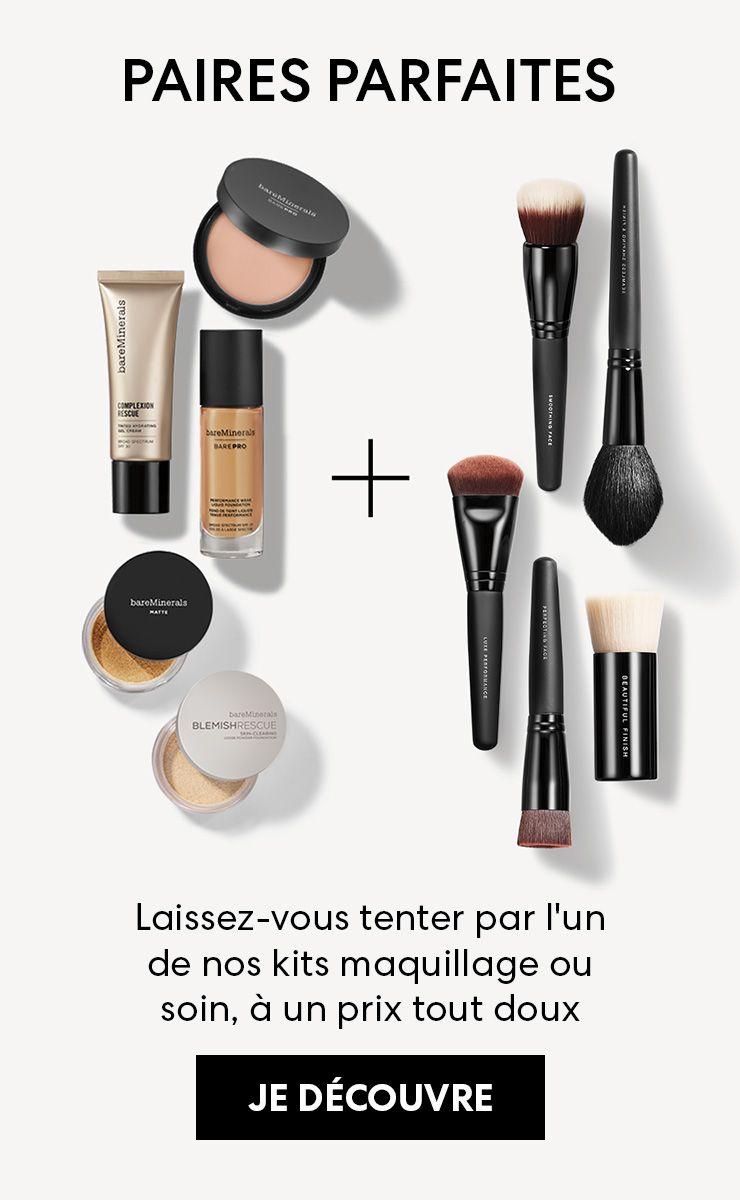 Laissez-vous tenter par l'un de nos kits maquillage ou soin, à un prix tout doux