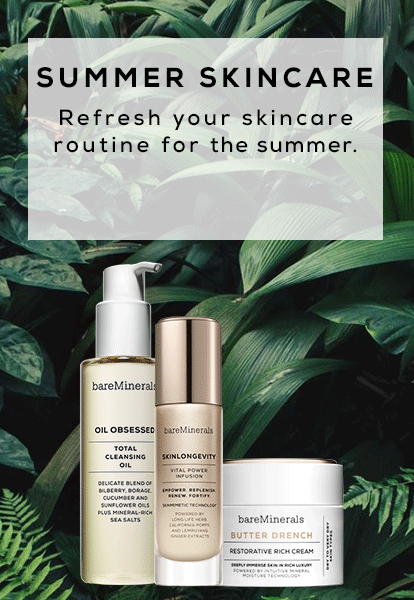 Summer Skincare - refresh your skincare routine for the summer