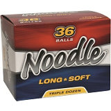 Noodle Long & Soft Golf Balls - 36 Pack