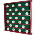 J.G. Hickory 49-Hole Ball Cabinet