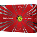 Callaway Prior Generation Chrome Soft Yellow Golf Balls
