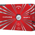 Callaway Chrome Soft White Golf Balls