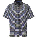 Snake Eyes Men's Multi Stripe Short Sleeve Polo