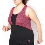 Women's Plus Size Jersey Performance Sleeveless Tank