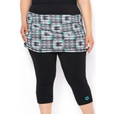 Women's Mesh Skort With Legging