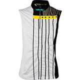 Women's Scratch Lines Sleeveless Mock