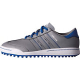 Junior Adicross V Spikeless Golf Shoe - Grey/Blue
